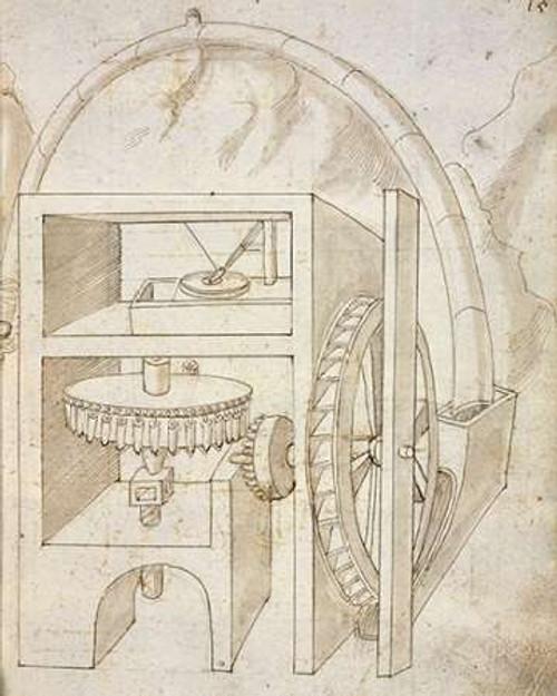 Folio 15: mill Poster Print by Francesco di Martini - Item # VARPDX455008