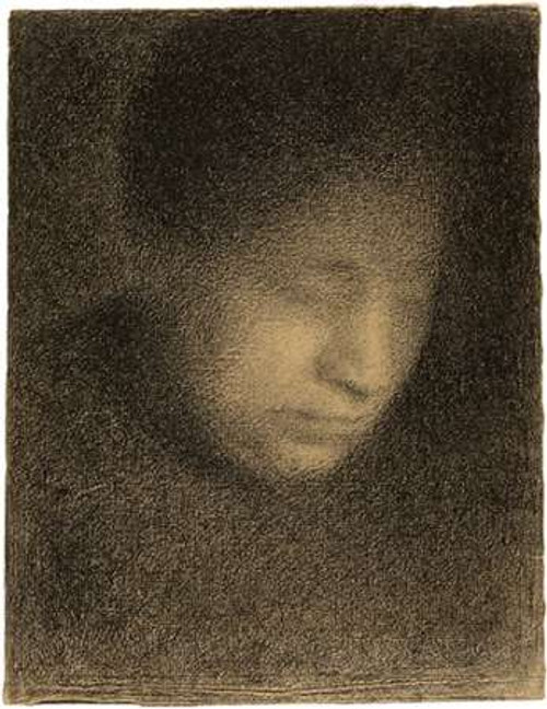 Madame Seurat, the Artists Mother Poster Print by Georges Seurat - Item # VARPDX455031