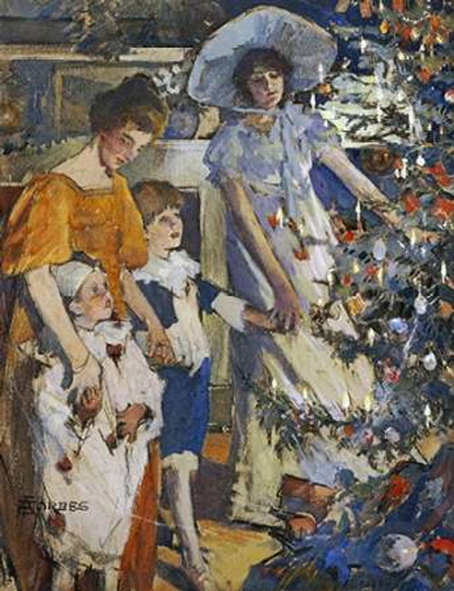 The Museumistmas Tree Poster Print by Elizabeth Adela Stanhope Forbes - Item # VARPDX264891