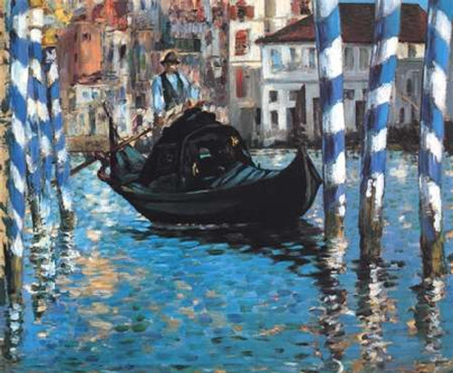 Grand Canal Blue Venice Poster Print by Edouard Manet - Item # VARPDX373501