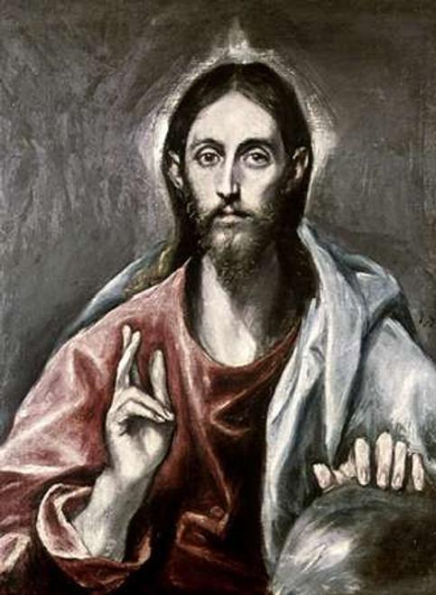 Savior of the World Poster Print by El Greco - Item # VARPDX277484