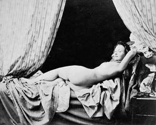Female Nude, 1856 Poster Print by Felix Jacques Moulin - Item # VARPDX455086