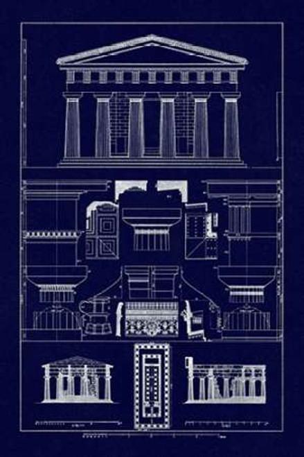 Temple of Vintageeidon at Paestum Poster Print by J. Buhlmann - Item # VARPDX394732