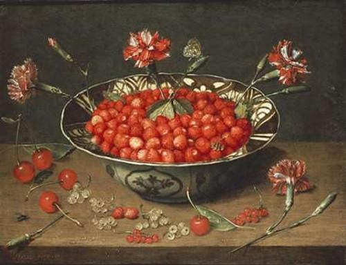 Strawberries In a Bowl Poster Print by Jacob Van Hulsdonck - Item # VARPDX267498