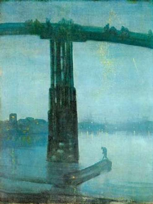 Old Battersea Bridge Poster Print by James McNeill Whistler - Item # VARPDX374782