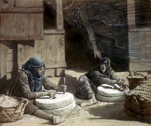 Two Women at The Mill Poster Print by James Tissot - Item # VARPDX280546