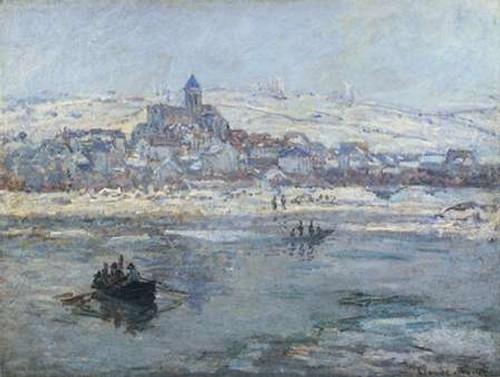 Vetheuil In Winter 1879 Poster Print by Claude Monet - Item # VARPDX373859