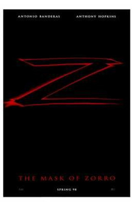 The Mask of Zorro Movie Poster (11 x 17) - Item # MOV237875