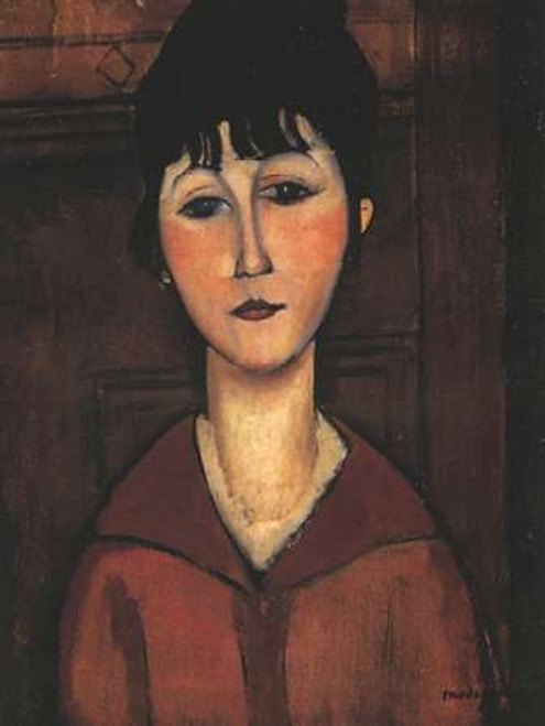 Portrait Of A Young Woman Poster Print by Amedeo Modigliani - Item # VARPDX373711