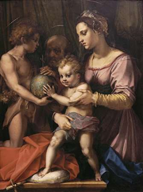 Holy Family Poster Print by Andrea Del Sarto - Item # VARPDX277353
