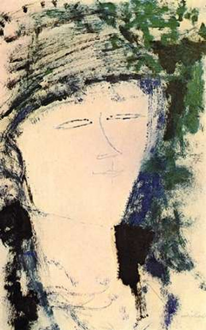 Beatrice Hastings Poster Print by Amedeo Modigliani - Item # VARPDX373600