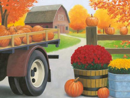 Autumn Affinity I Poster Print by James Wiens - Item # VARPDX32204HR