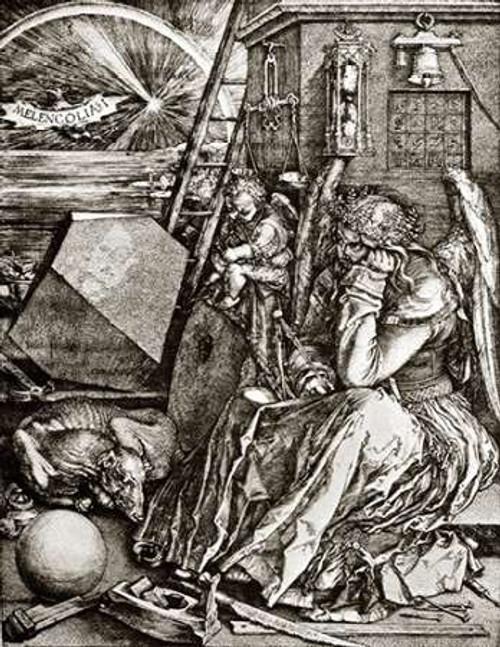 Melencolia Poster Print by Albrecht Durer - Item # VARPDX372809