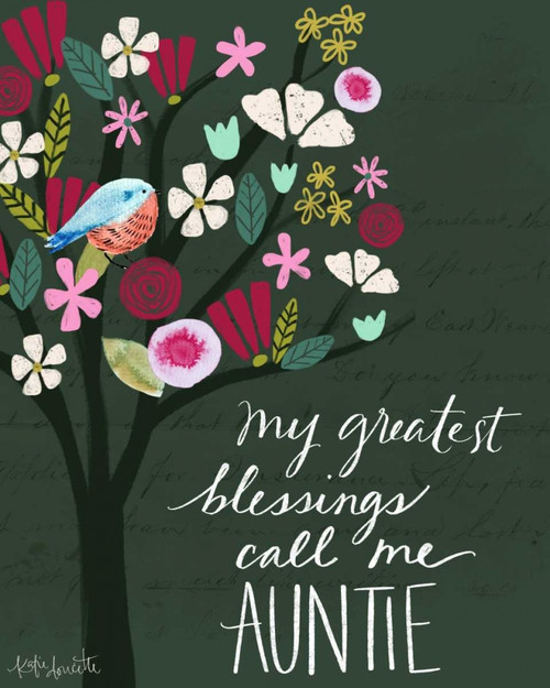 Auntie Poster Print by Katie Doucette - Item # VARPDXKA1891