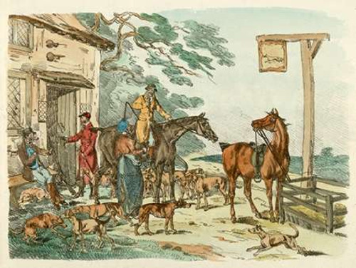 Hunters Before Hunting, 1817 Poster Print by Henry Thomas Alken - Item # VARPDX460409