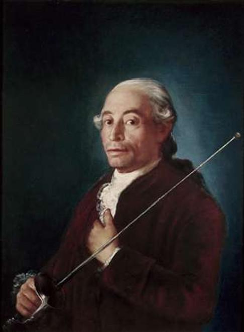 Portrait of Sabatini Poster Print by Francisco De Goya - Item # VARPDX277293