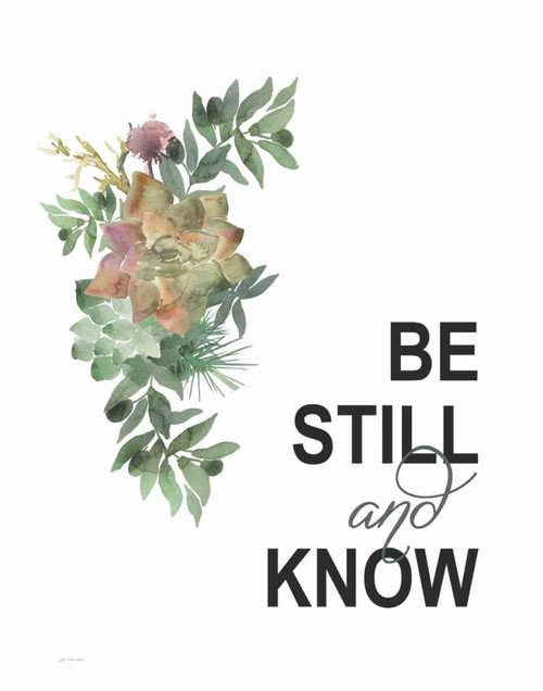 Be Still Poster Print by Jo Moulton - Item # VARPDXJM15454