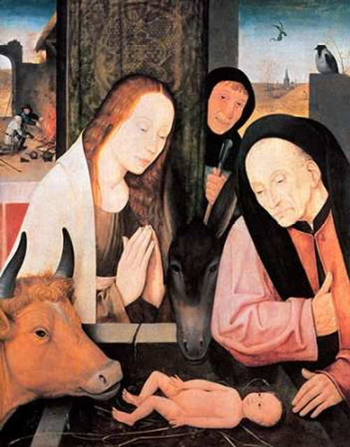 The Nativity Poster Print by Hieronymus Bosch - Item # VARPDX372615
