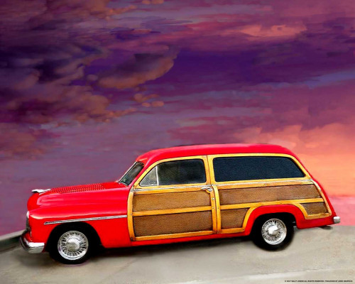 Red Woody Poster Print by Sally Linden - Item # VARPDXLIN55