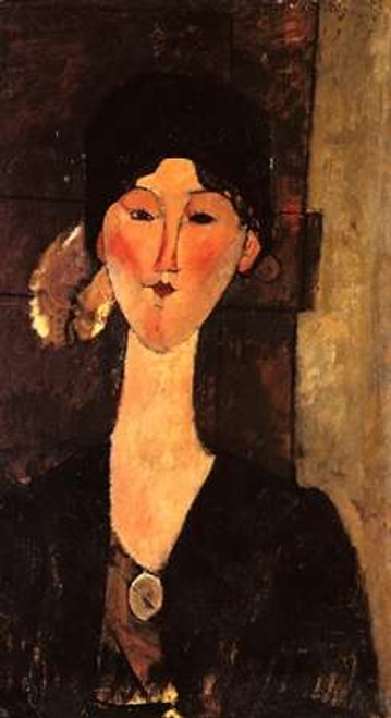 Beatrice Hastings In Front Of A Door Poster Print by Amedeo Modigliani - Item # VARPDX373603