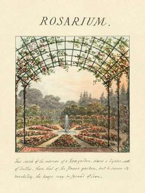 Rosarium, 1813 Poster Print by Humphry Repton - Item # VARPDX453918