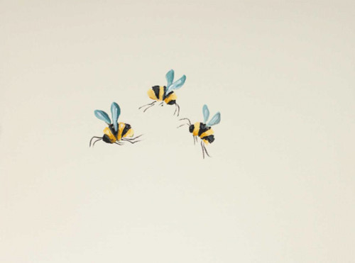 3 Bees Poster Print by Molly Susan Strong - Item # VARPDXMO1032