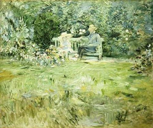 The Gardening Lesson Poster Print by Berthe Morisot - Item # VARPDX265289
