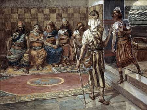 Young Prophet Before The Council Poster Print by James Tissot - Item # VARPDX280562