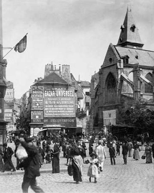 Paris, 1898-1900 - Place Saint-Medard Poster Print by Eugene Atget - Item # VARPDX455089