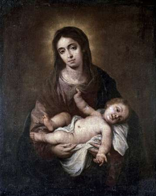 Virgin and Child #1 Poster Print by Bartolome Esteban Murillo - Item # VARPDX278810