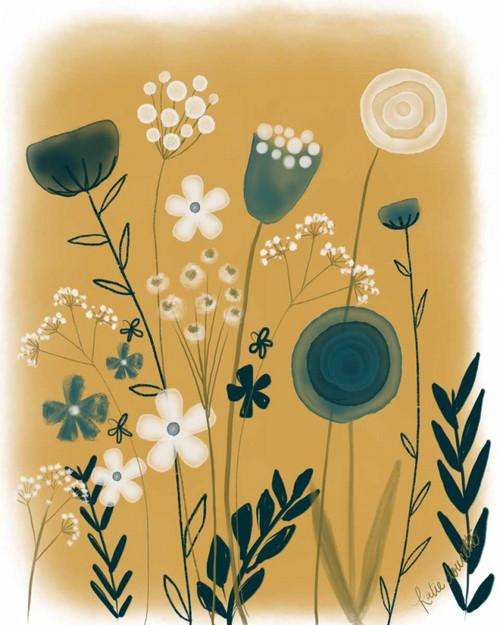 Vintage Floral III Poster Print by Katie Doucette - Item # VARPDXKA1823