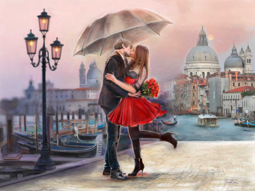 Venice Love Poster Print by Michael Tarin - Item # VARPDX85263