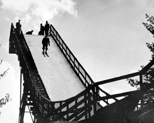Ski Jump. Hanover, New Hampshire, 1936 Poster Print by Arthur Rothstein - Item # VARPDX460429
