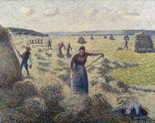 The Hay Harvest, Eragny Poster Print by Camille Pissarro - Item # VARPDX279438
