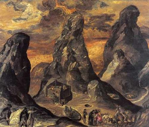 Mount Sinai Poster Print by El Greco - Item # VARPDX372922
