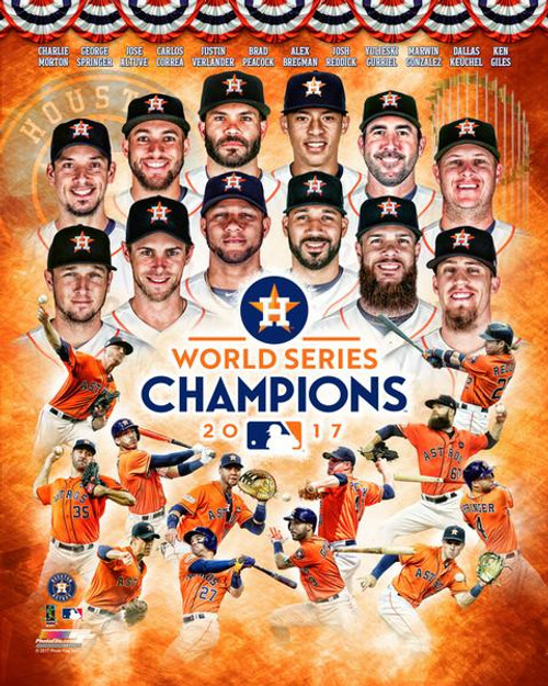 Houston Astros 2017 World Series Champions Composite Photo Print - Item # VARPFSAAUP172