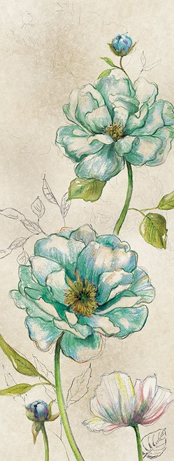 Sketches in Blue Poster Print by Carol Robinson - Item # VARPDX18862