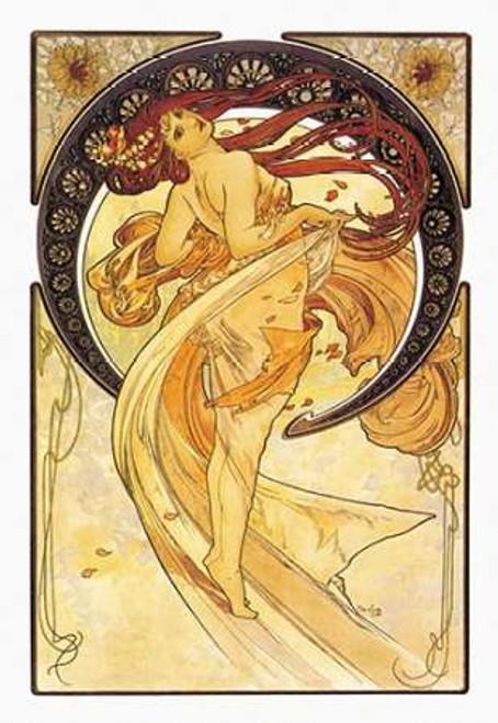 Dance, 1898 Poster Print by Alphonse Mucha - Item # VARPDX342243