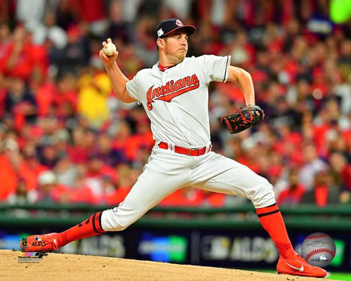 Trevor Bauer Game 1 of the 2017 American League Division Series Photo Print - Item # VARPFSAAUO122