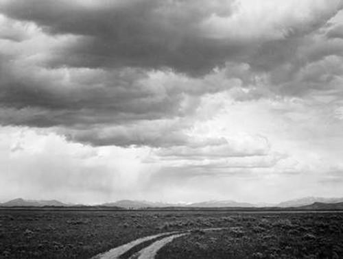 Roadway near Grand Teton National Park, Wyoming, 1941 Poster Print by Ansel Adams - Item # VARPDX460787