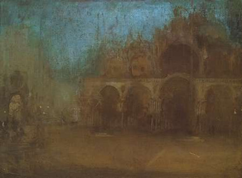 Nocturne Blue And Gold St Marks Venice 1879 Poster Print by James McNeill Whistler - Item # VARPDX374774