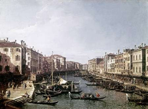 Grand Canal, Venice Poster Print by Canaletto - Item # VARPDX276954