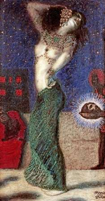 Dancing Salome Poster Print by Franz Von Stuck - Item # VARPDX268647