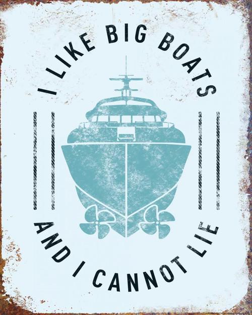 I Like Big Boats Poster Print by JJ Brando - Item # VARPDXJJ61