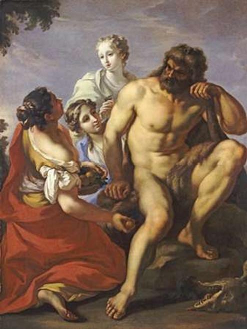 Hercules In The Garden of The Hesperides Poster Print by Gianantonio Pellegrini - Item # VARPDX267000