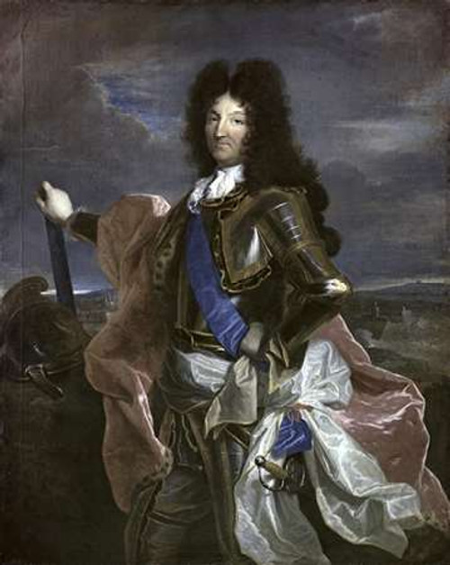 Louis XIV, King of France Poster Print by Hyacinthe Rigaud - Item # VARPDX279721