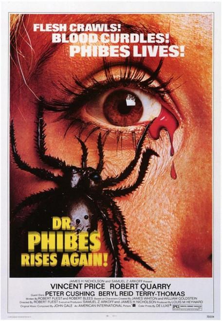 Dr. Phibes Rises Again Movie Poster Print (27 x 40) - Item # MOVGF5295