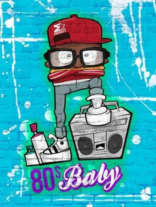 80s_baby_NO Poster Print by Enrique Rodriquez Jr - Item # VARPDXERJRC021A