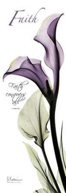 Calla Lily in Purple - Faith Poster Print by Albert Koetsier - Item # VARPDXAKPL082B2