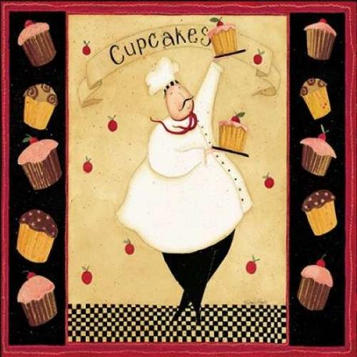 Cupcake addiction Poster Print by Dan DiPaolo - Item # VARPDXDDPSQ100